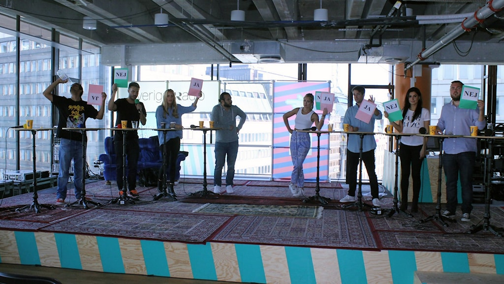 Gör vi bra radio? Metropolpanelen säger sitt. Foto: Nic von Schoenberg /Sveriges Radio