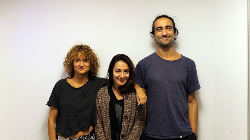 Marall Nasiri, Hamadi Khemiri och Bianca Kronlöf
