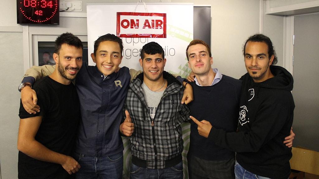 Felipe Illezca, Iliad Al-Khadad och Hanif Arjang