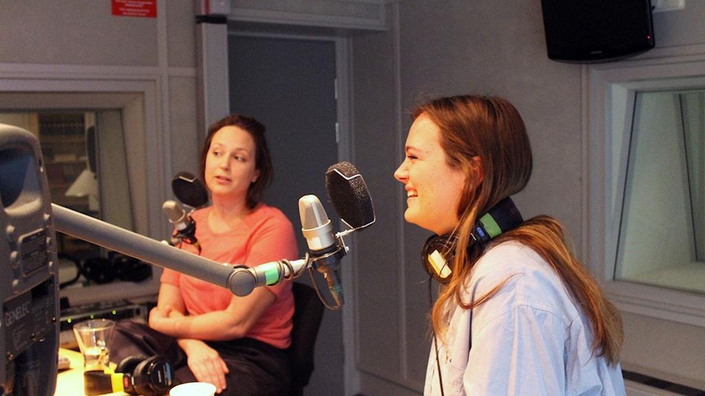 Regissören Laerke Herthoni och producenten Maja Asperö Lind