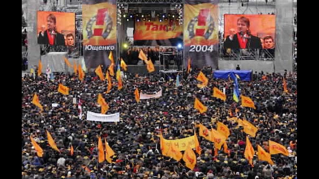 orangea revolutionen