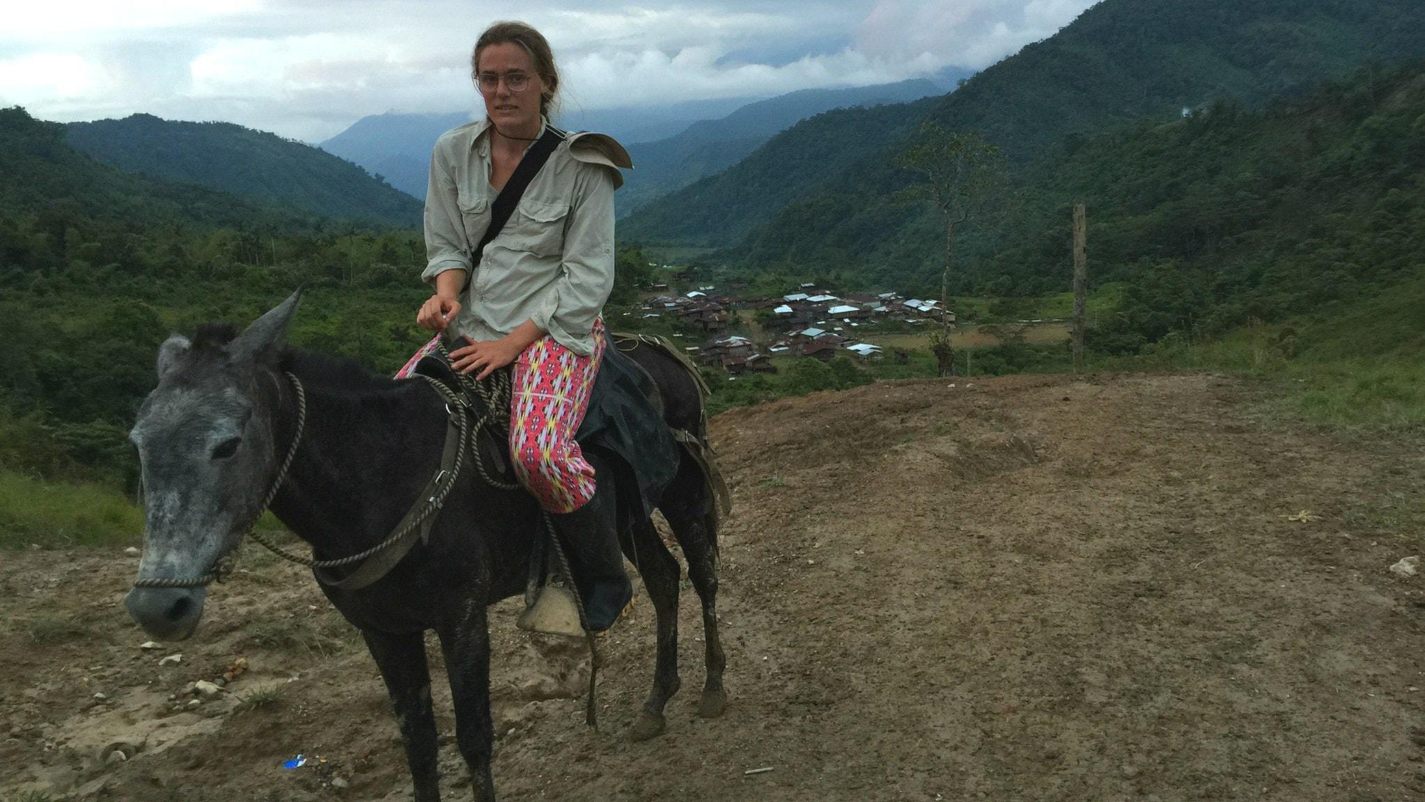 Lotten Collin om ett Colombia på väg mot fred