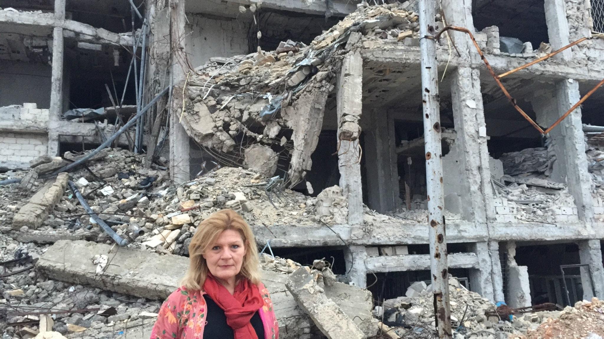 Cecilia Uddén inifrån krigets Syrien