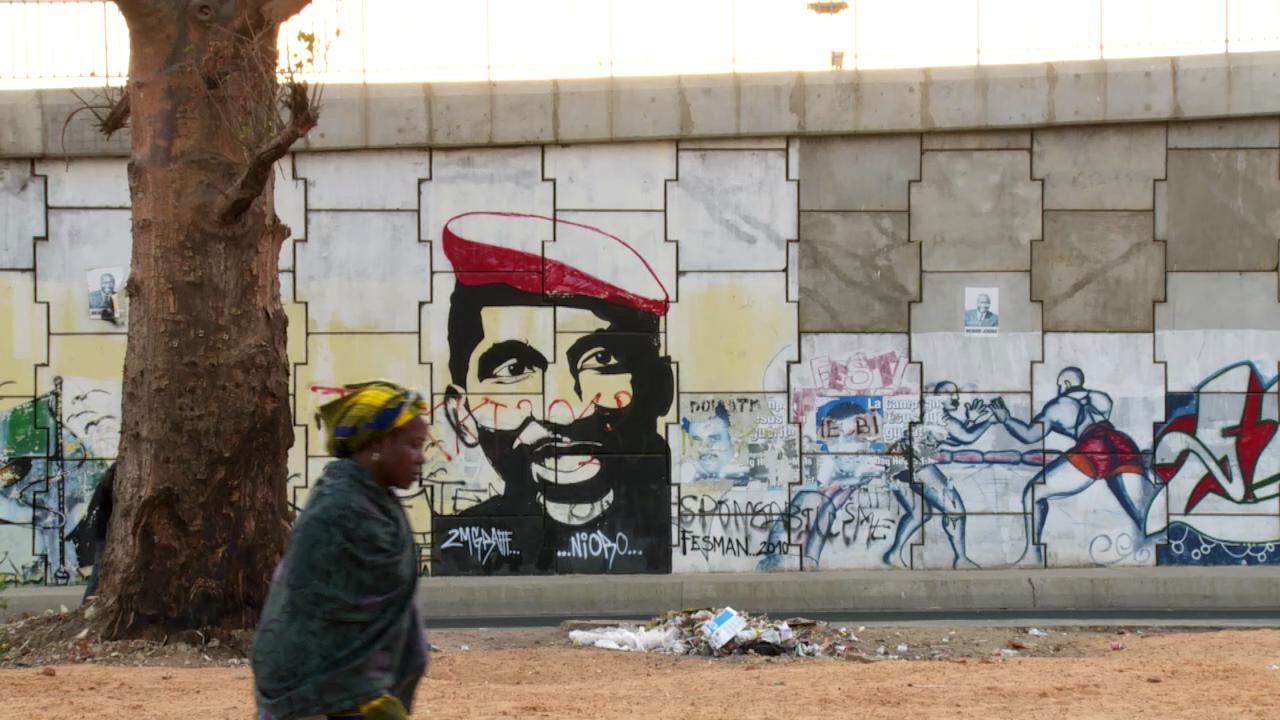 Sankaras idéer lever fortfarande i Västafrika