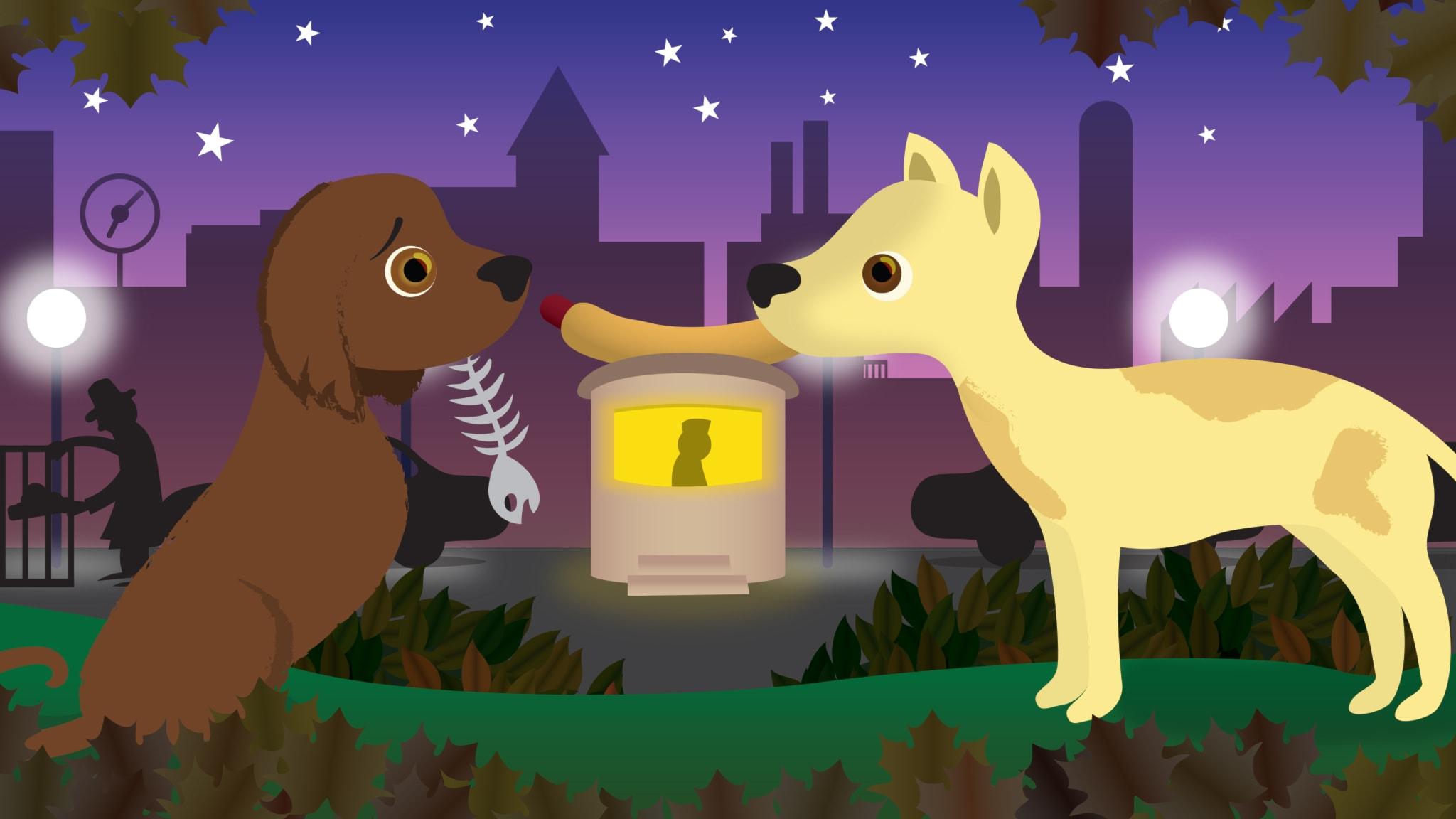 Laika rymdhunden: del 1