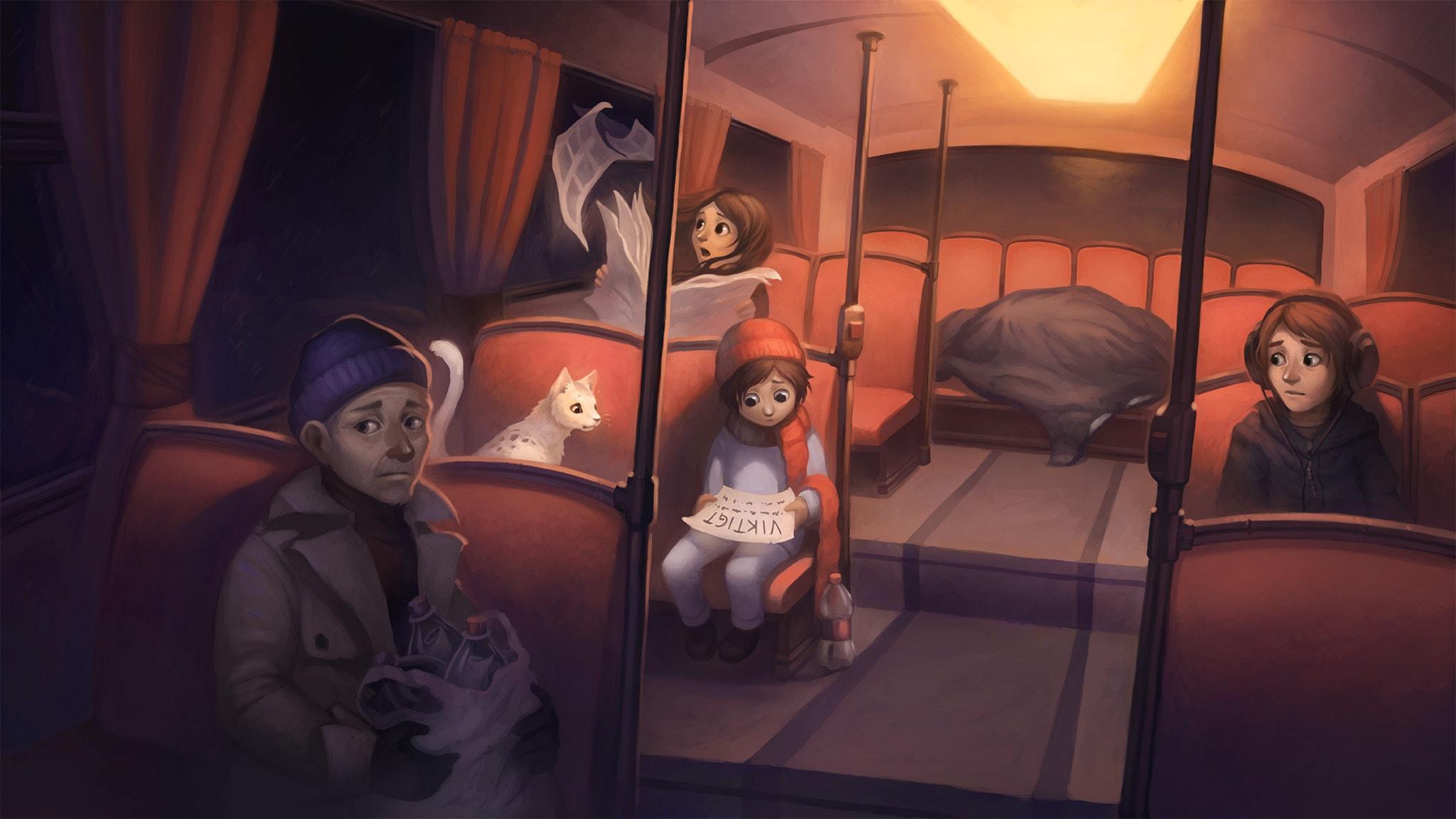 Nadim och drömbussen: del 3