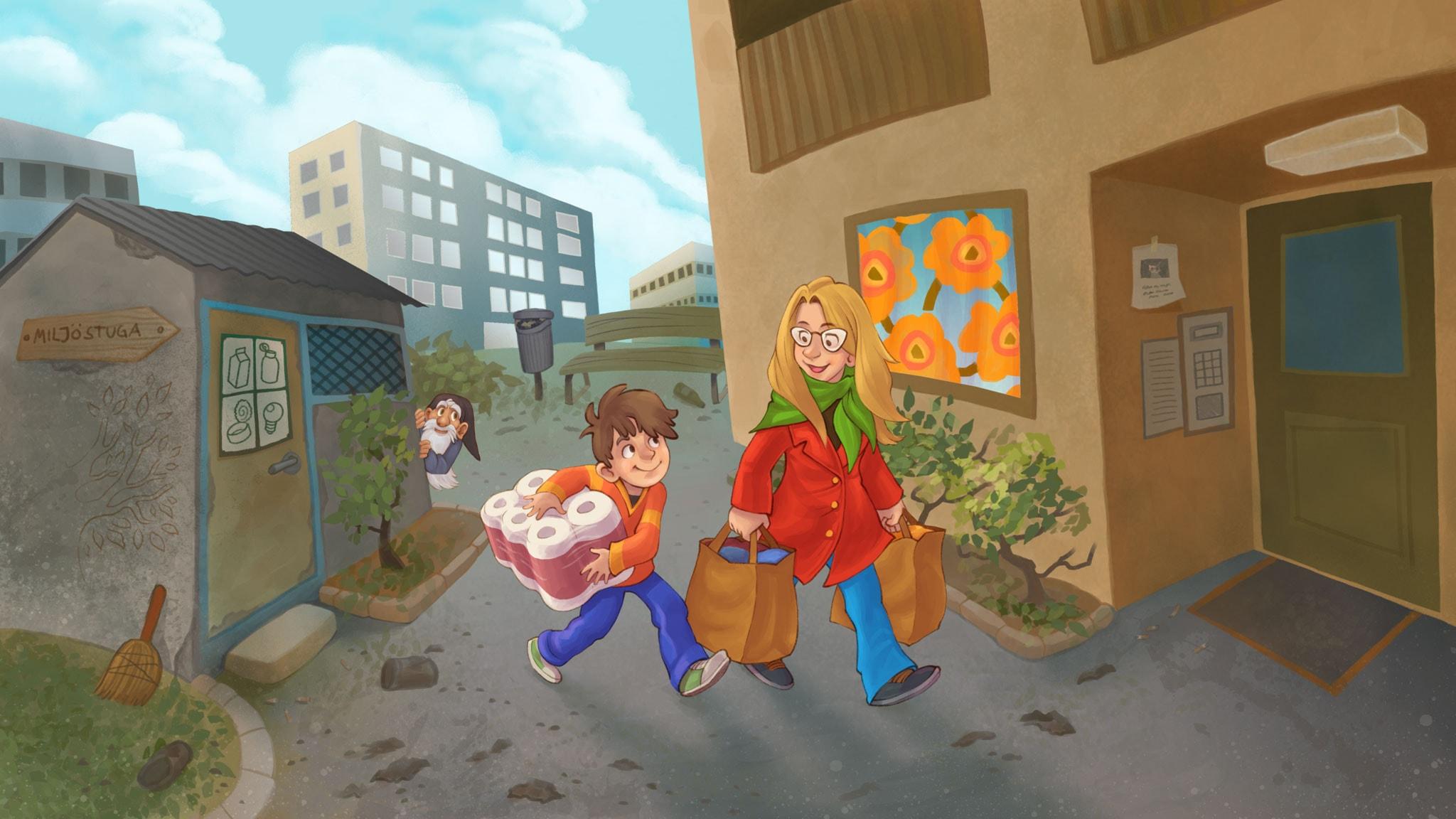 Finska sagor: Hustomten i Väsby