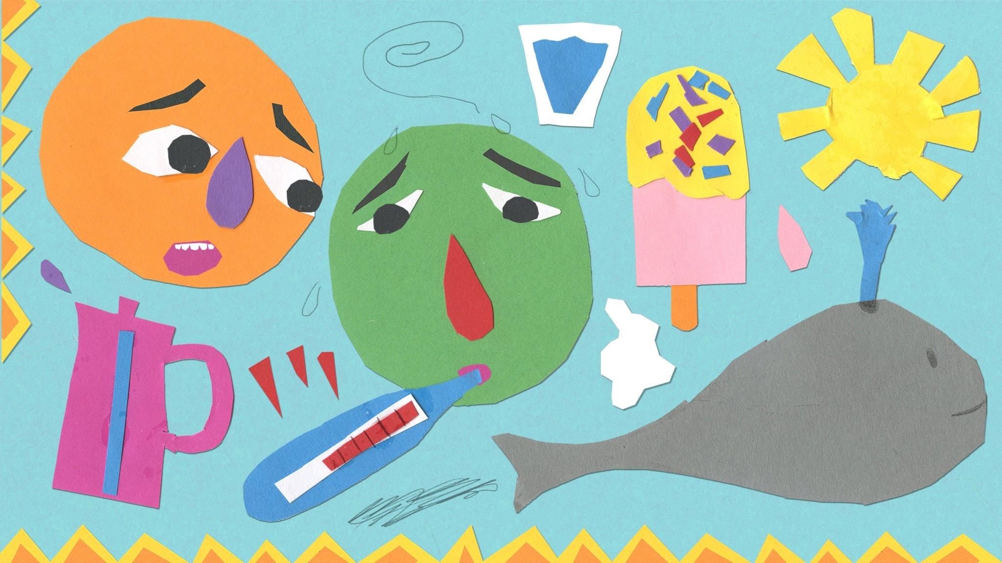 Kina och Keve lever livet del 2: Få feber