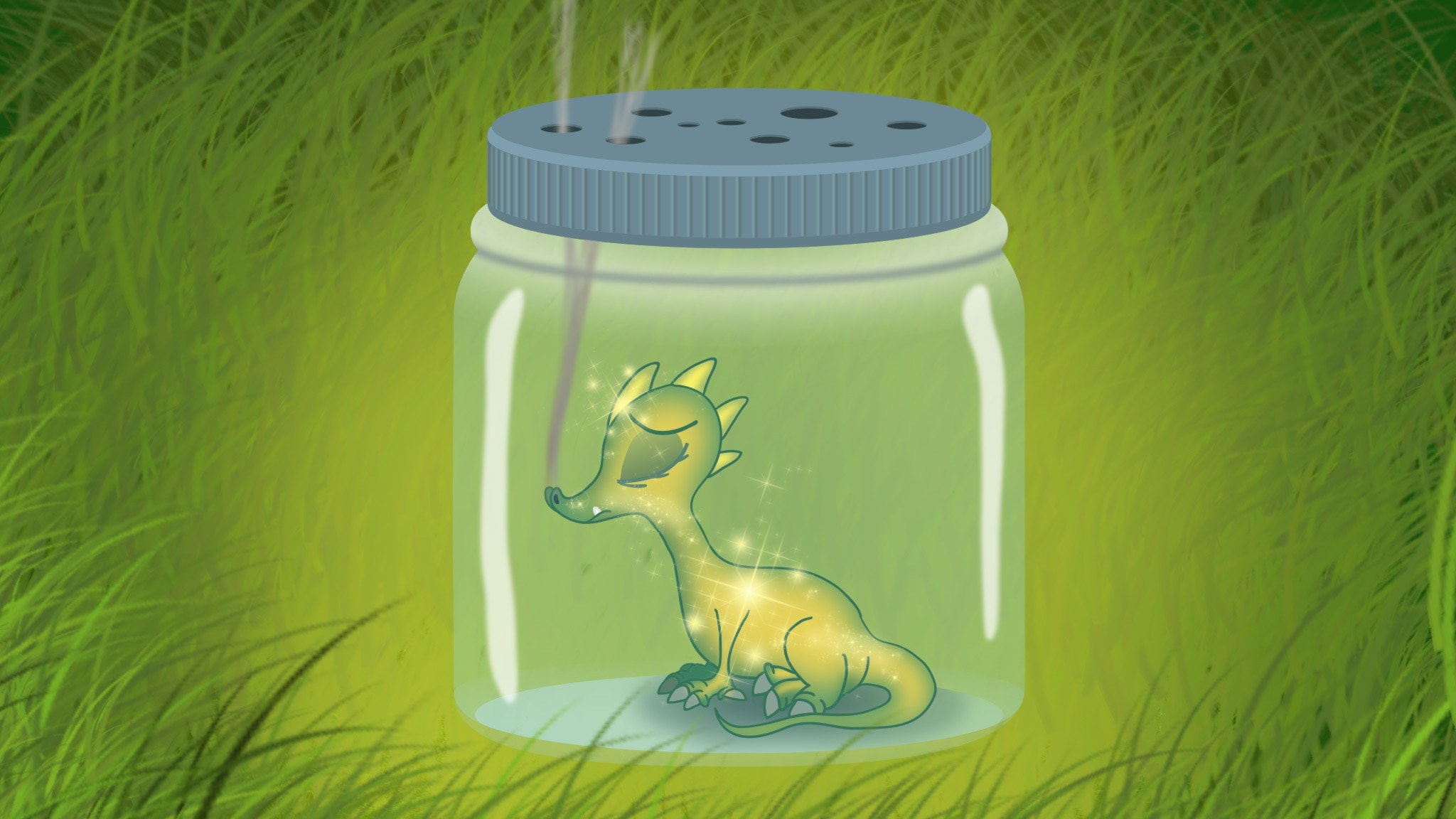 Historien om den sista draken i världen, del 1
