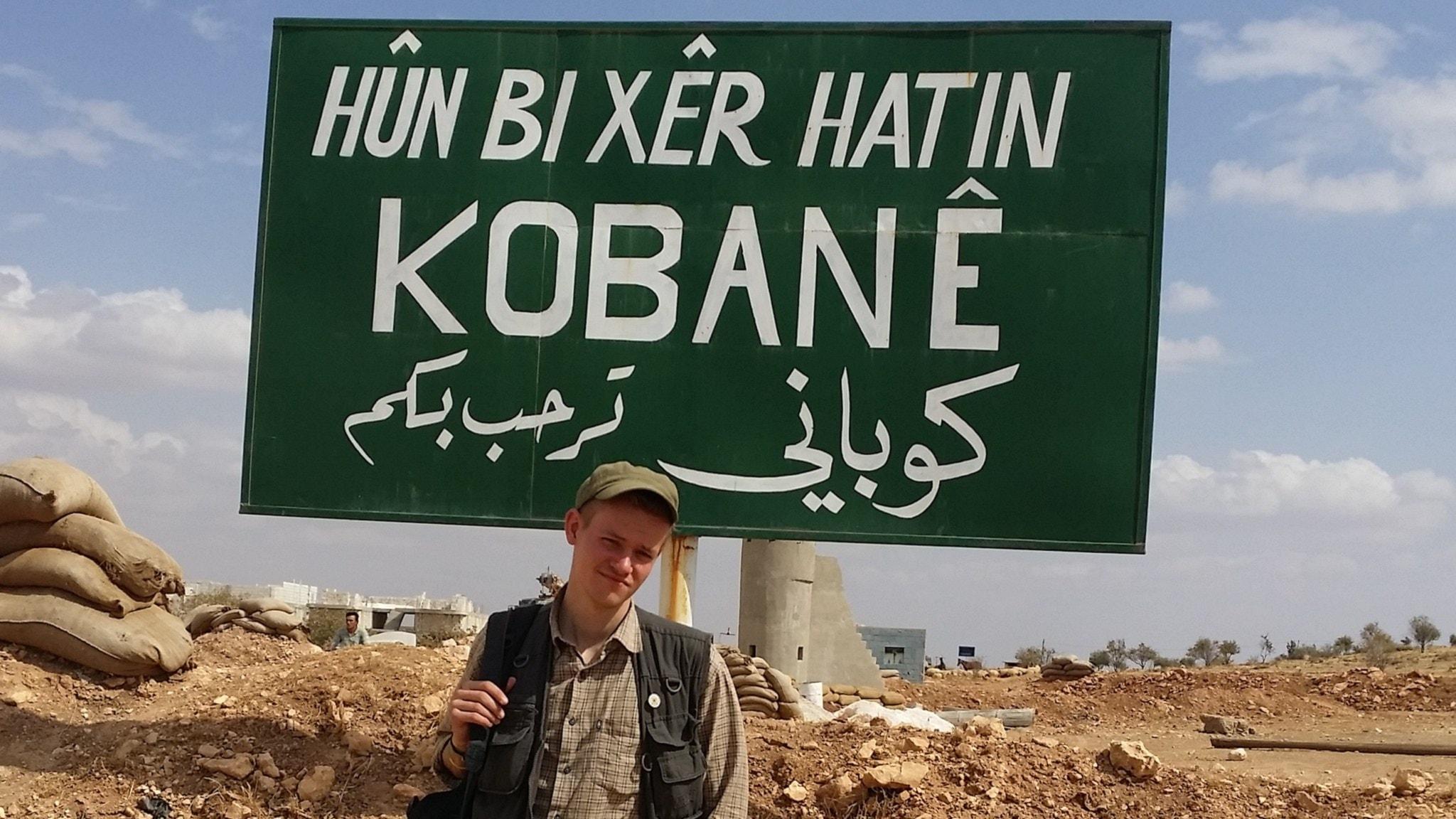 Svenske Joakim i Kobane – den sista journalisten