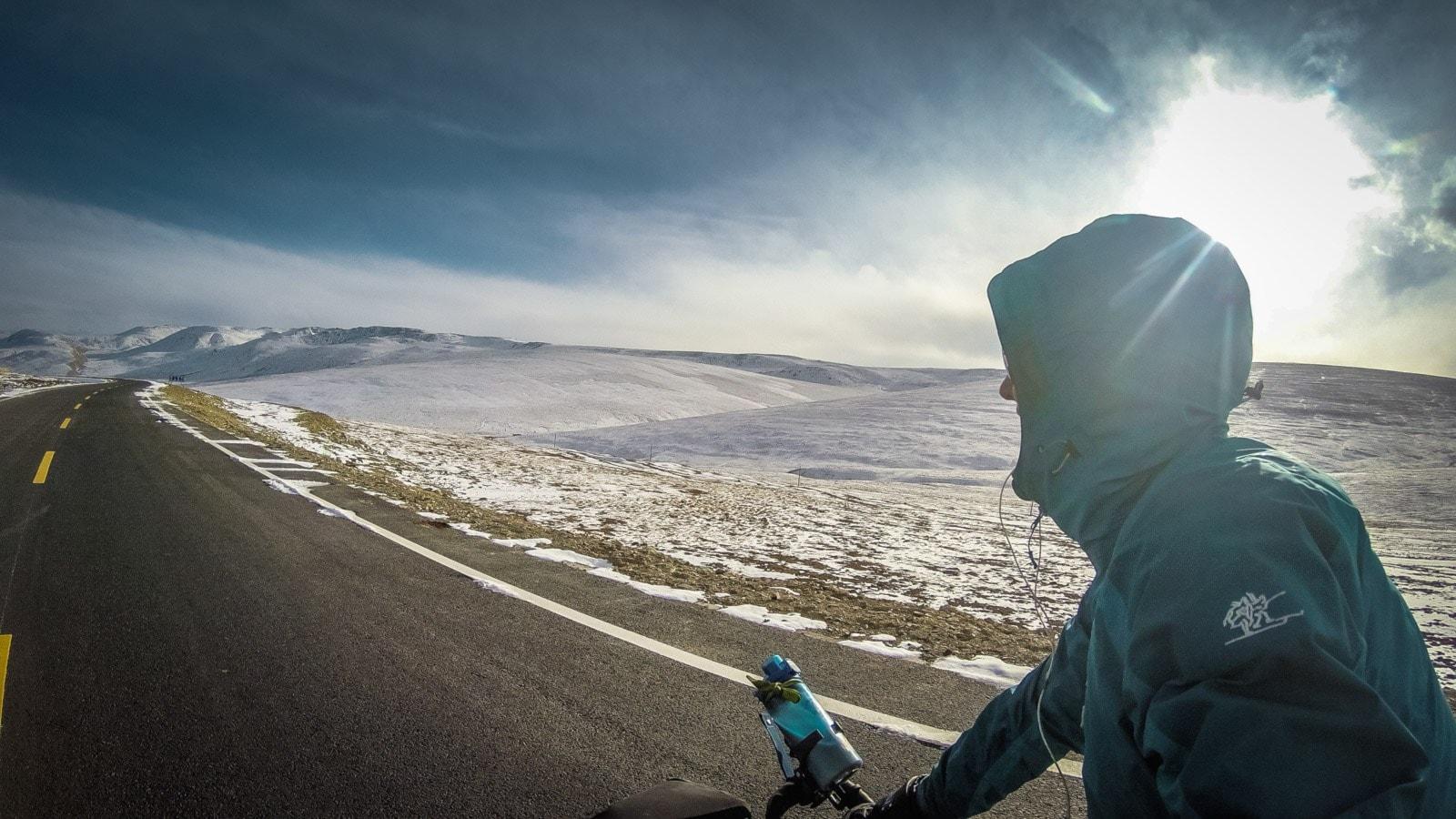 Fredrika cyklar jorden runt – på 1000 dagar