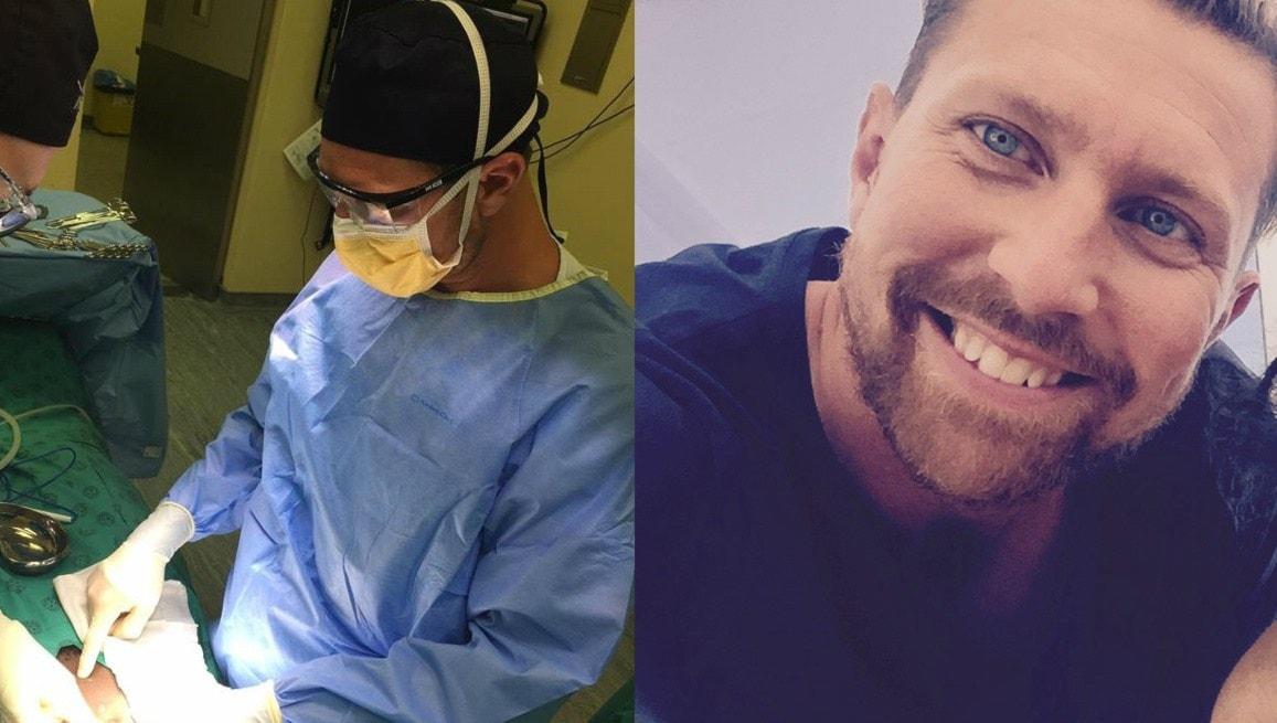 Karl opererar skottskadade i Sydafrika