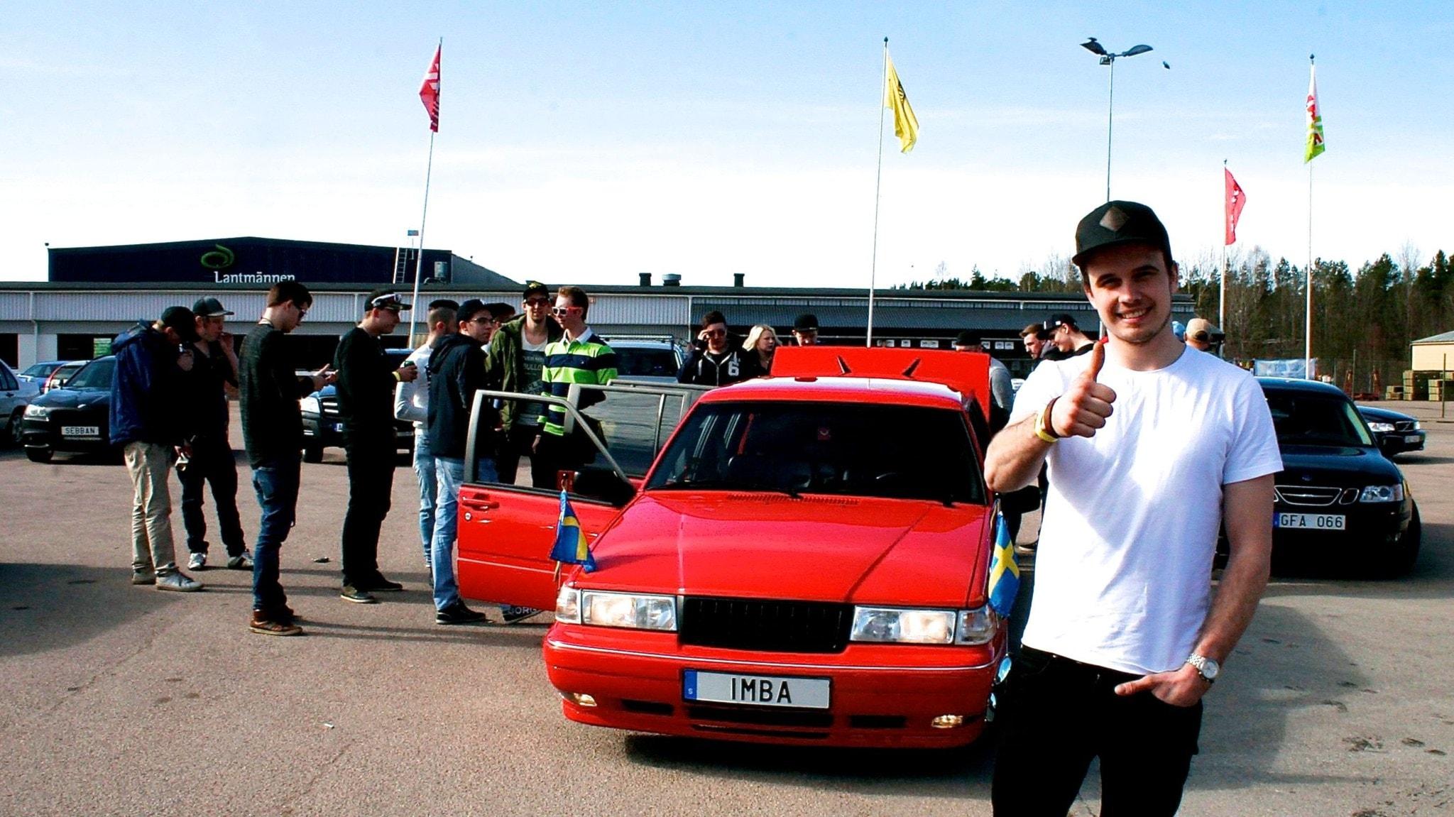 En limousine för Edde