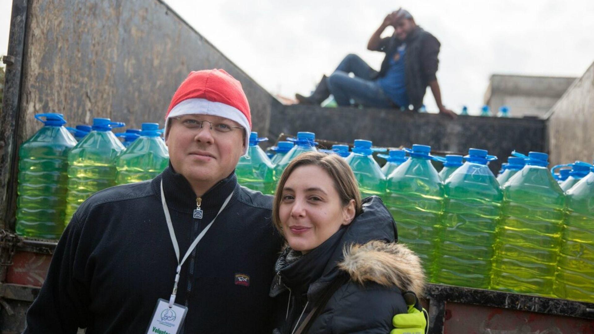 Calles jul – i syriskt tältläger