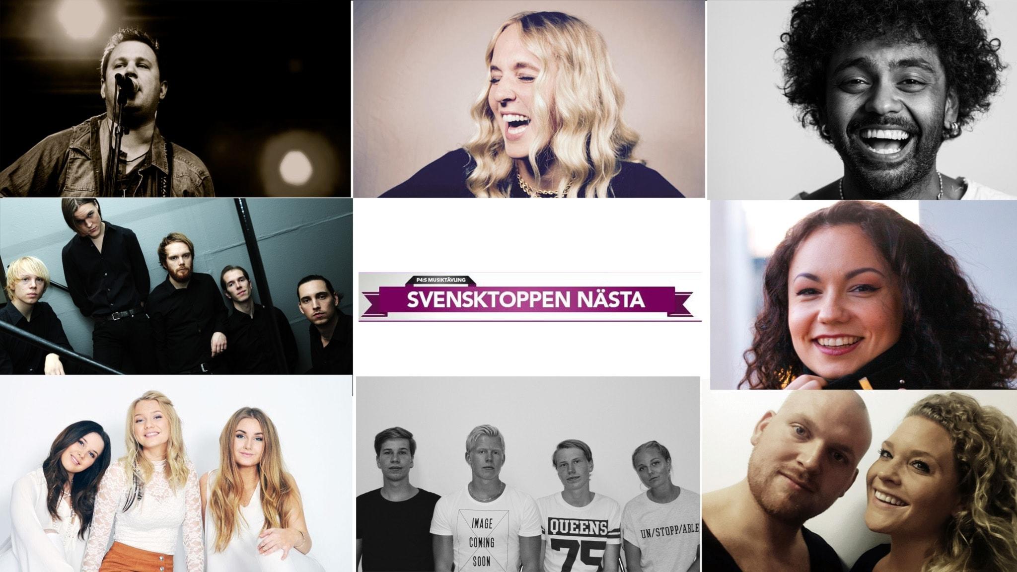 Hur mår finalisterna i Svensktoppen Nästa dagen före?