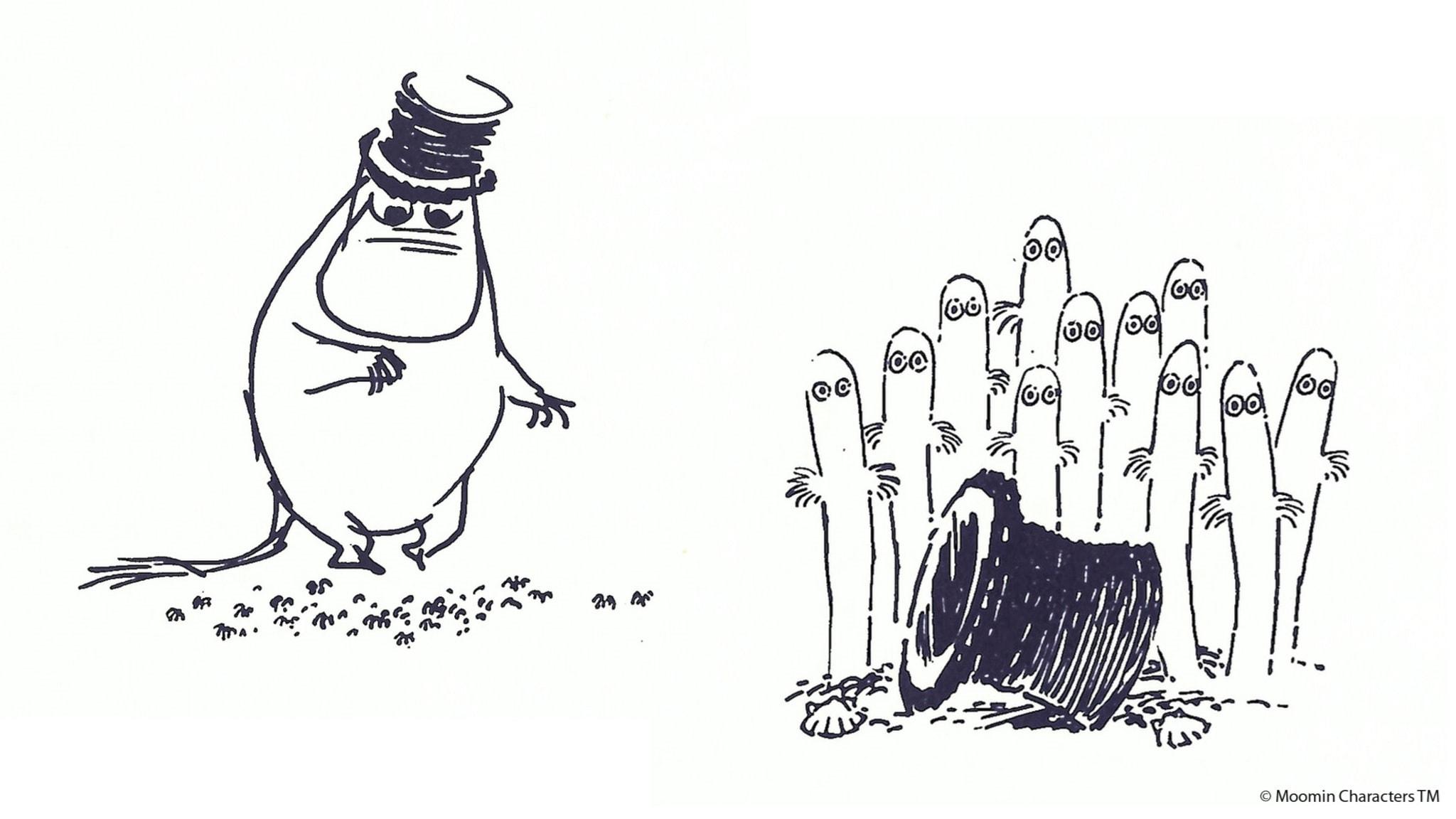Från Mumindalen: Hattifnattarnas hemlighet