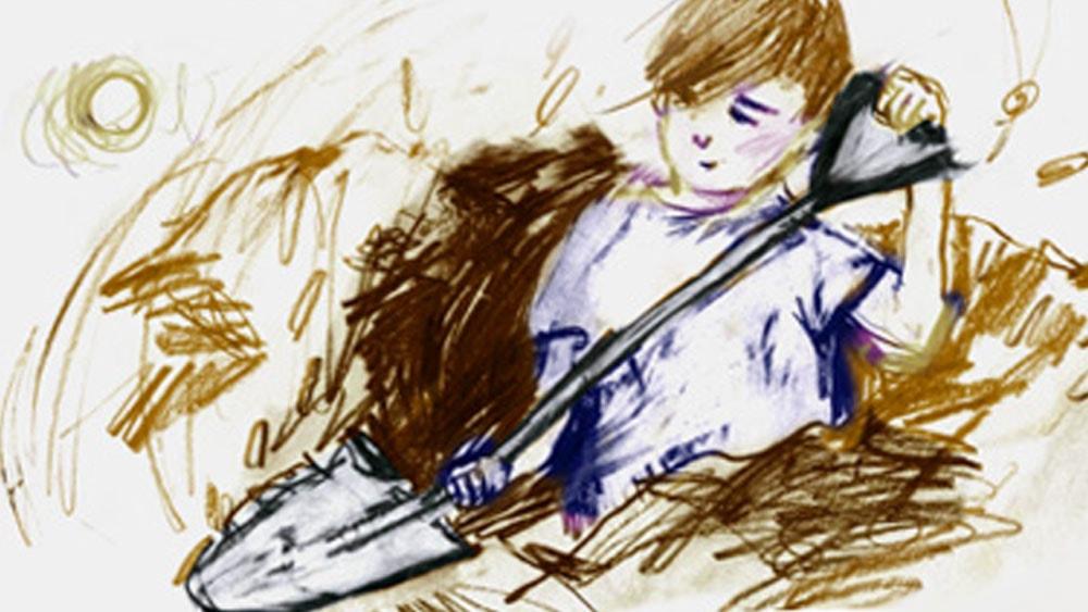 Pojken som aldrig slutade gräva: del 1 av 2