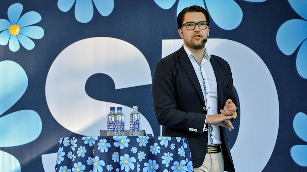 Jimmie Åkesson (SD) talar i Almedalen 2016