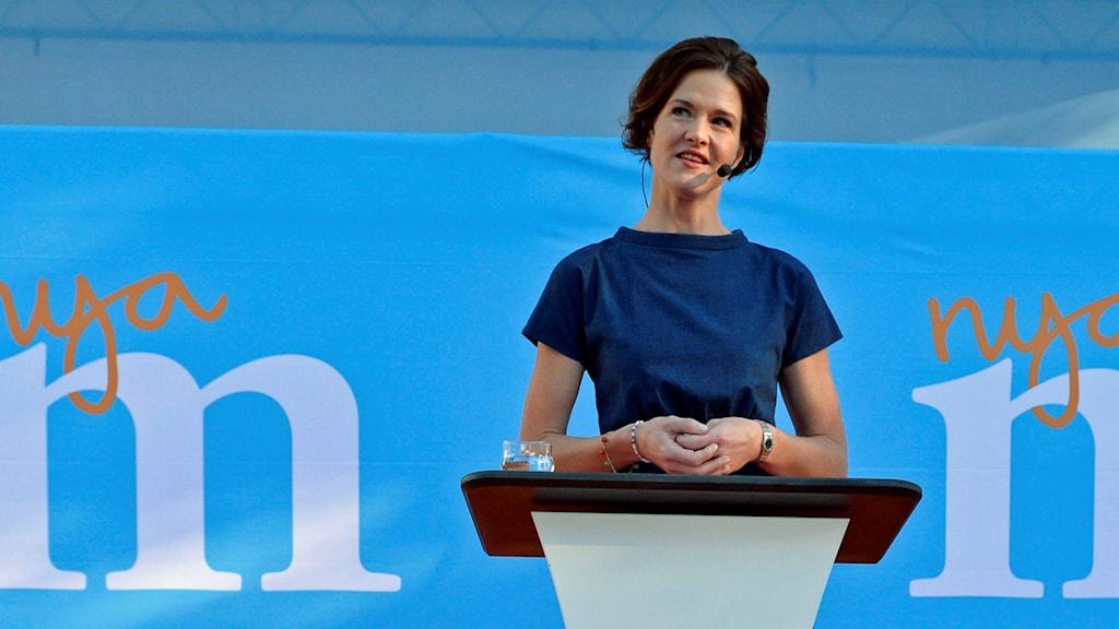 Anna Kinberg Batra (M) talar i Almedalen 2016