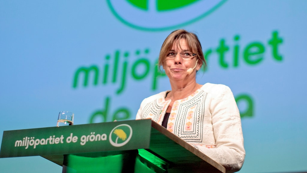 Isabella Lövin (MP) talar i Almedalen 2016