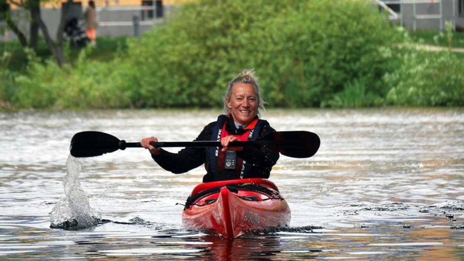 Vi paddlar med Sveriges främsta olympier