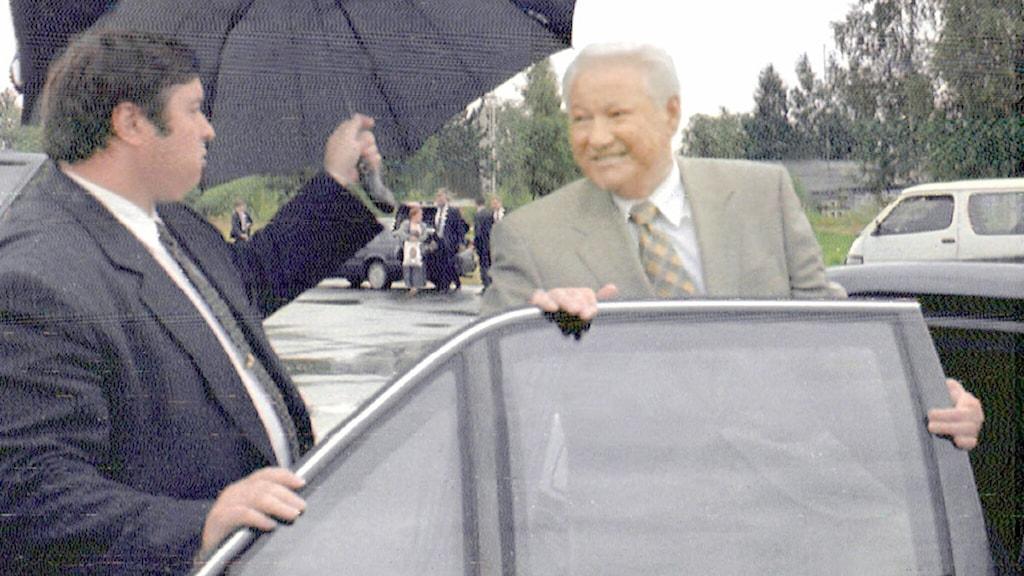 Boris Jeltsin, Rysslands förste demokratiskt valda president. Foto: Scanpix.