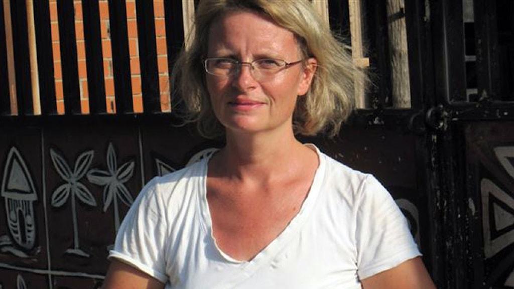 Maria Sjöqvist. Foto: Sveriges Radio.