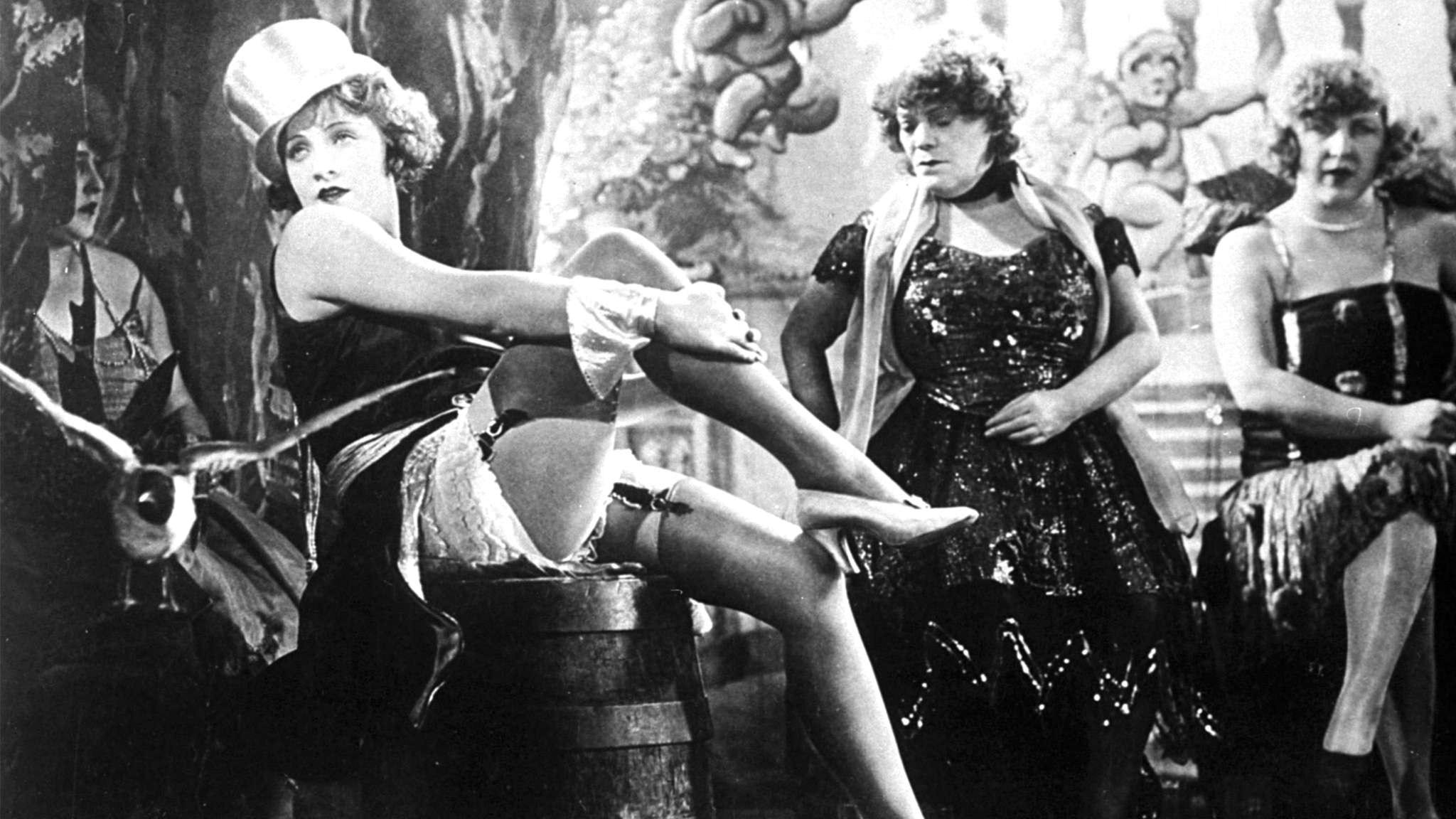 Blå ängeln med Marlene Dietrich i huvudrollen