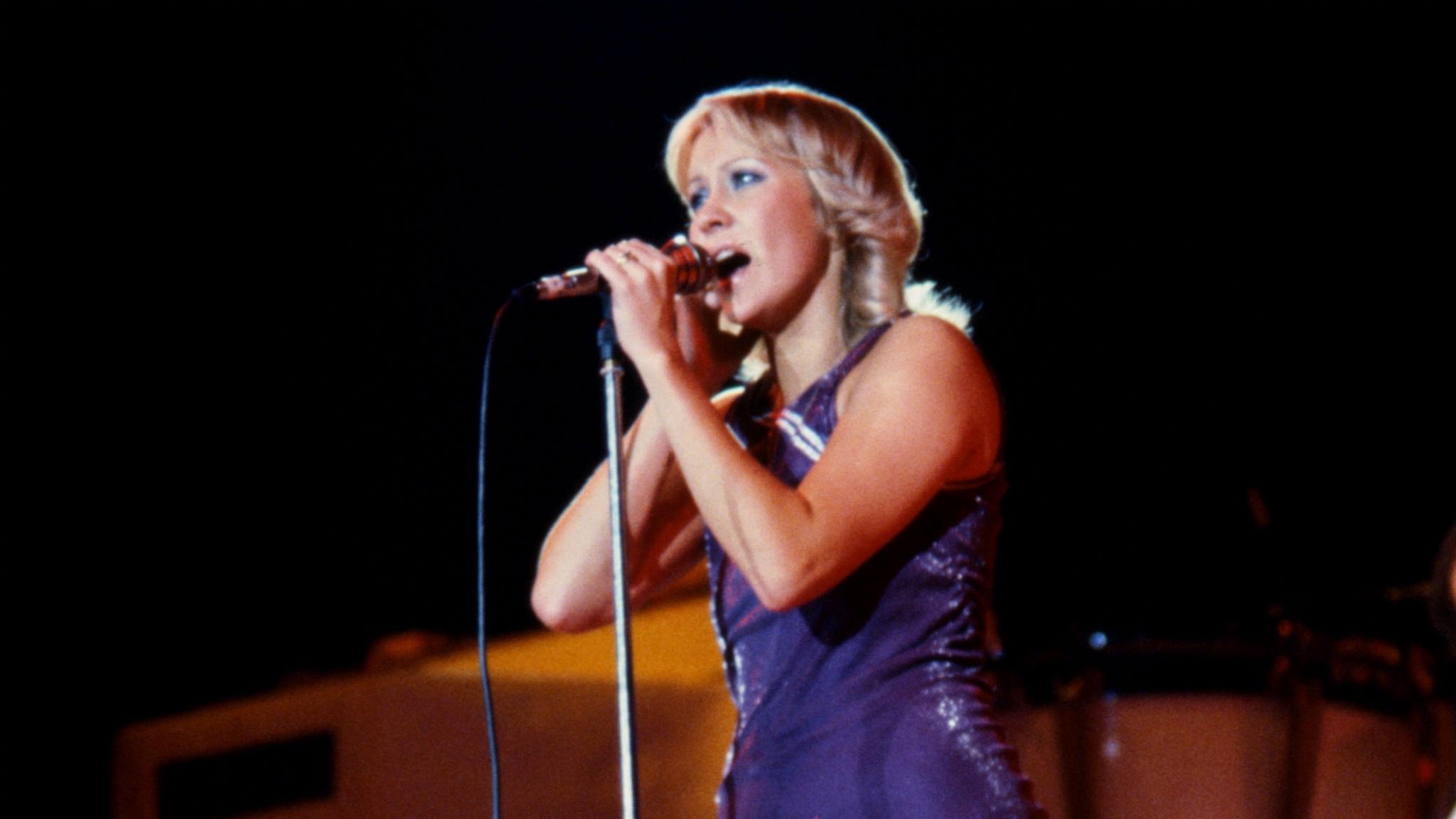 Agnetha Fältskog hade stora sommarhitten 1983