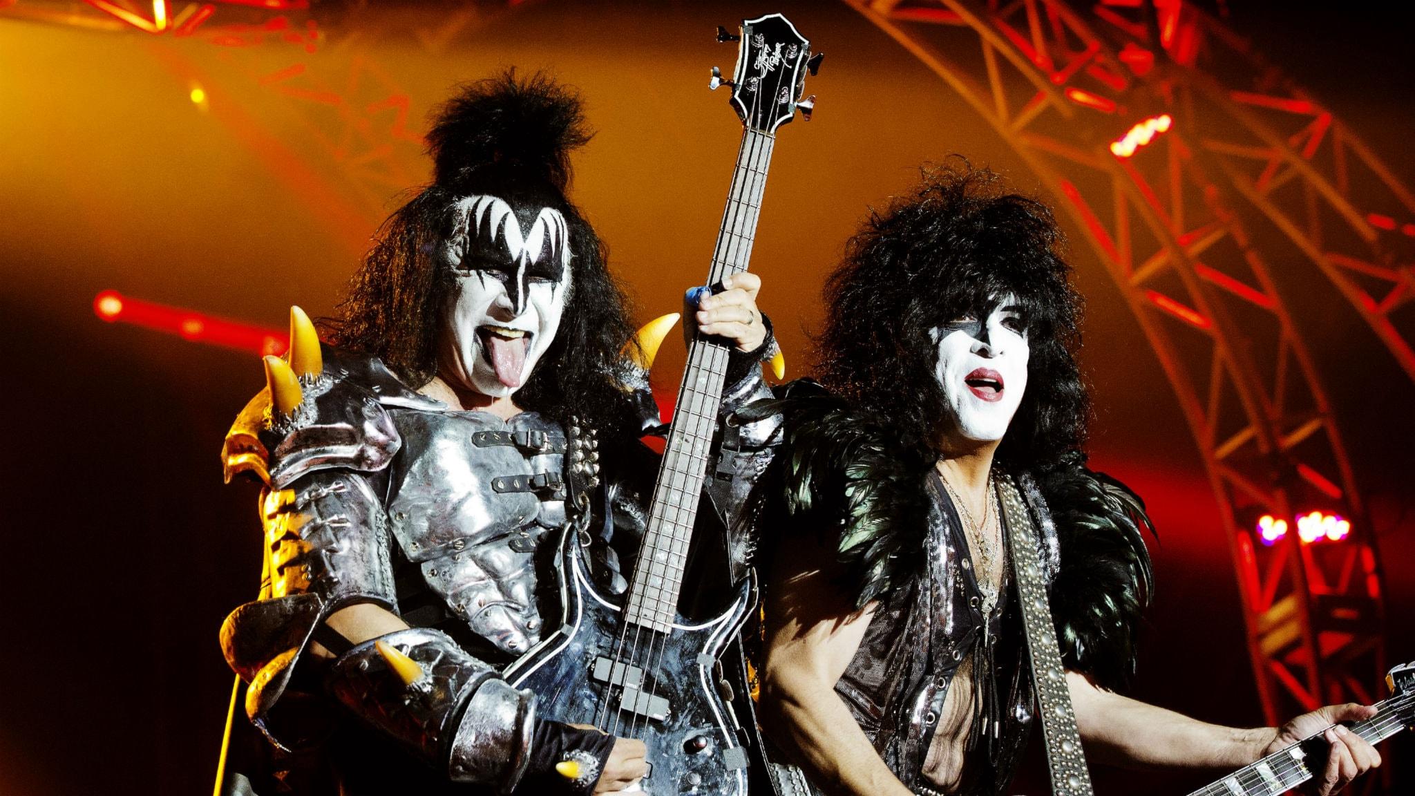 Himlen stod i brann tack vare Kiss 1984