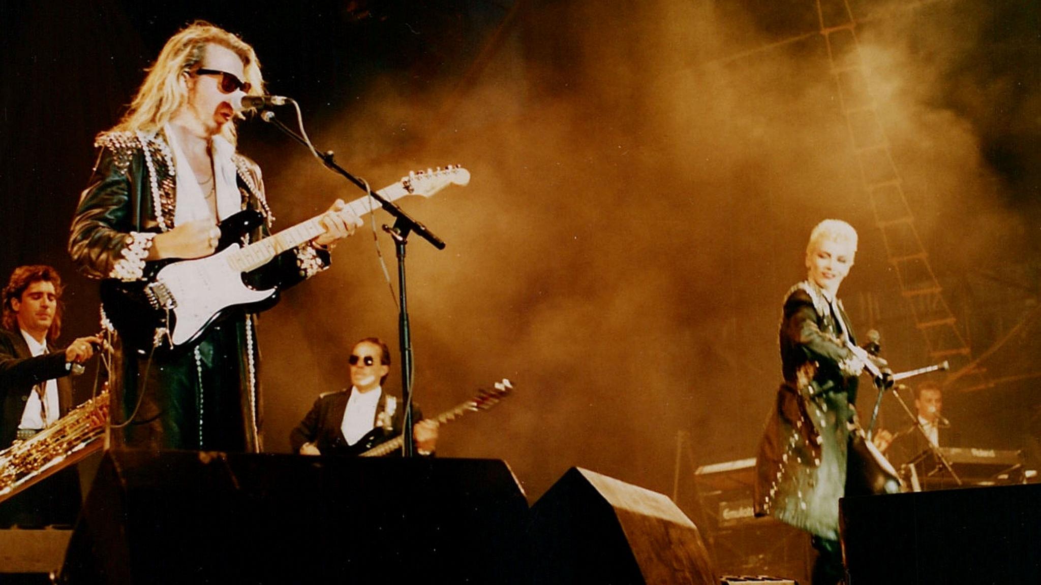 Eurythmics stod på toppen av sin karriär 1985