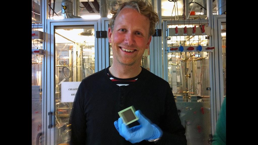 Bränslecellsforskaren Peter Blennow, Risö Danmarks Tekniska Universitet.