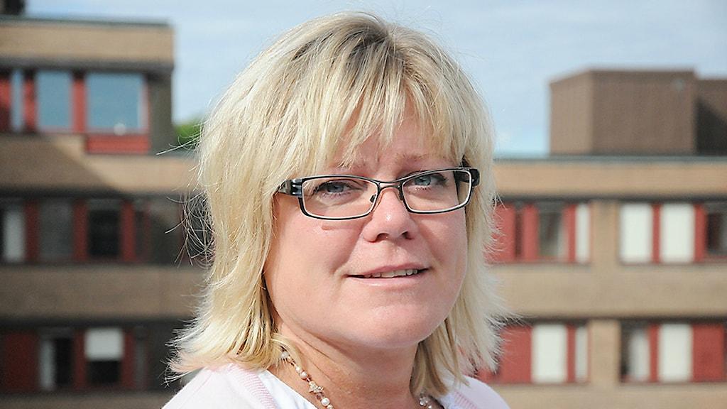 Mette Lindahl Olsson, enhetschef MSB. Foto: MSB