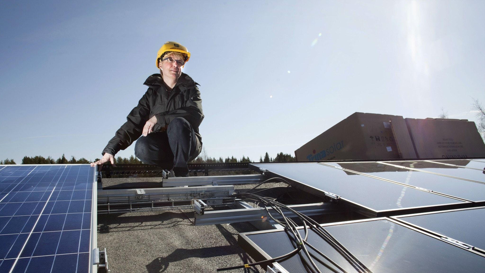 Strålande affärer för solenergi