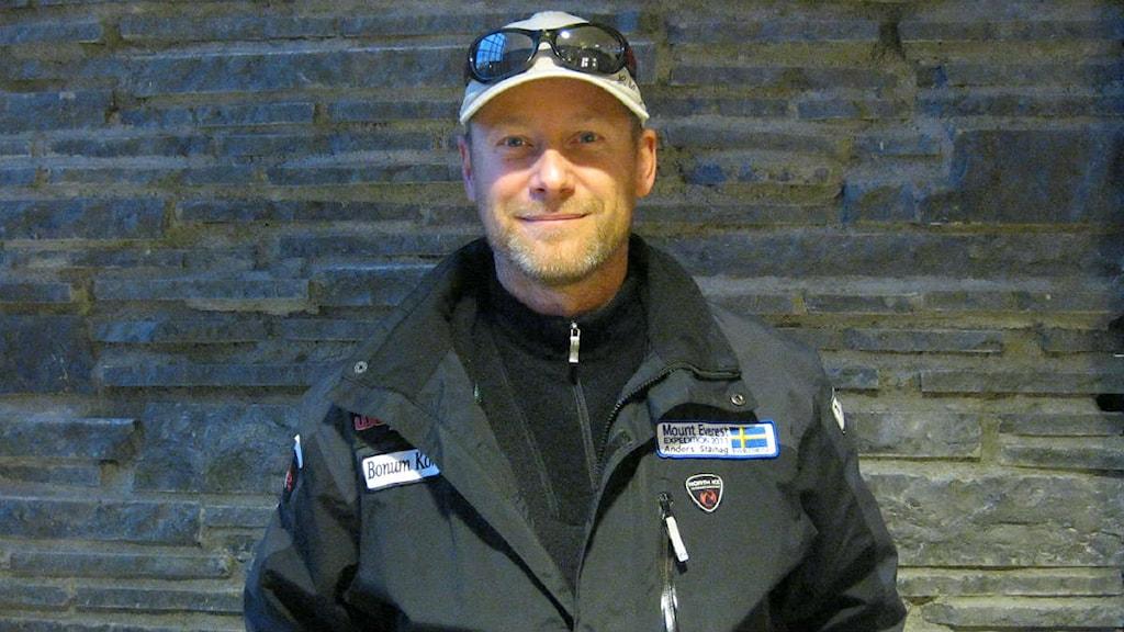 Anders Stävhag, äventyrare. Foto: Lindha Olofsson/SR Jämtland