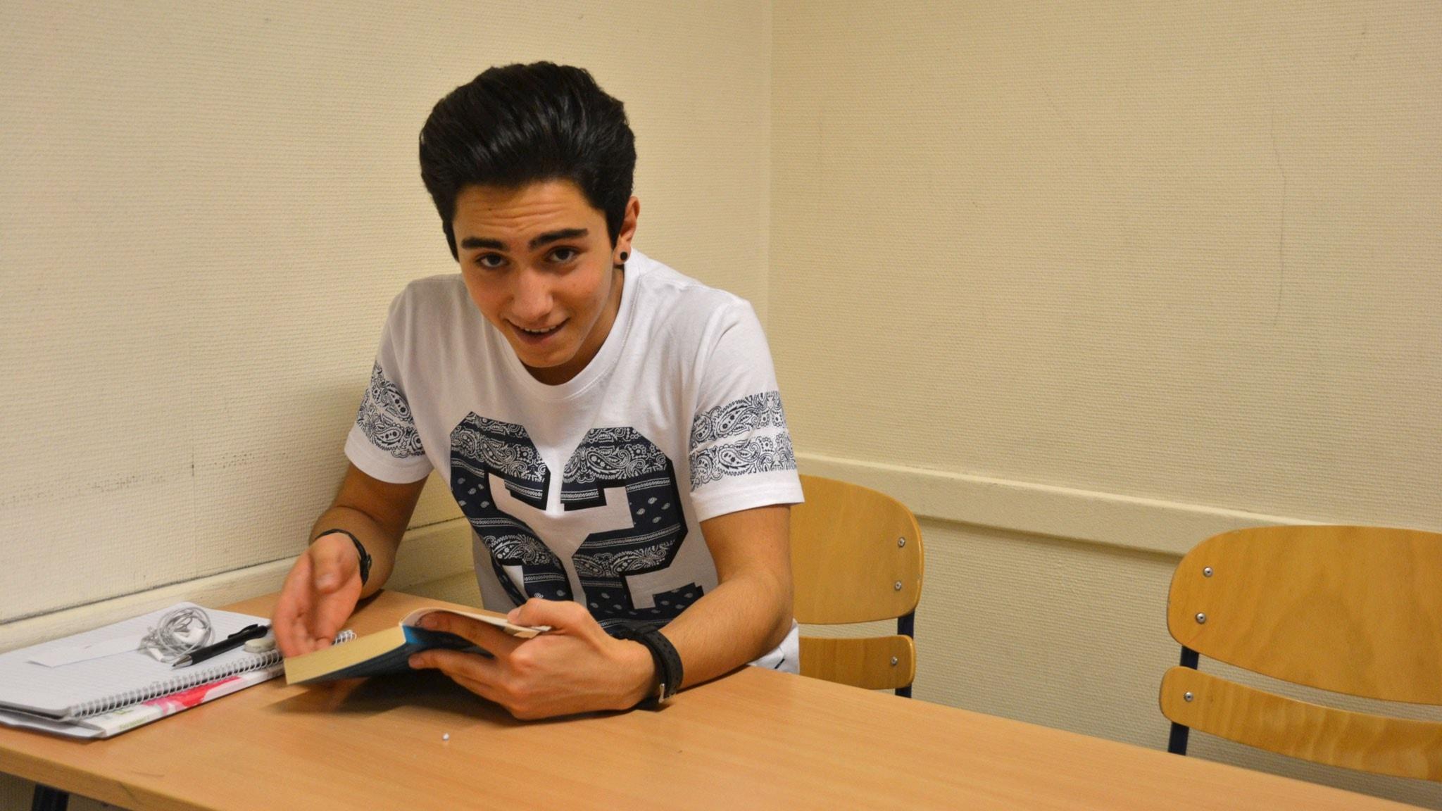 Från storstadsskola i Teheran till introduktionsklass i Övik