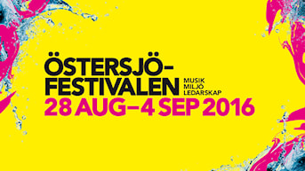 Östersjöfestivalen 2016. Illustration: ROI.
