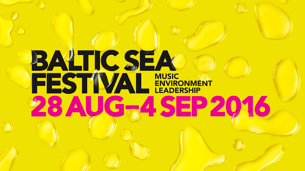 Baltic Sea Festival 2016