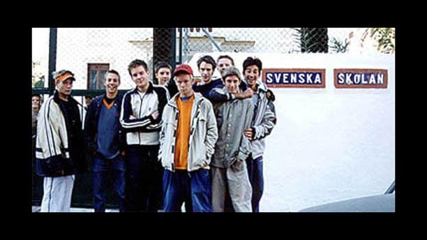 Jävla vitskallar - med svensk bakgrund i Spanien