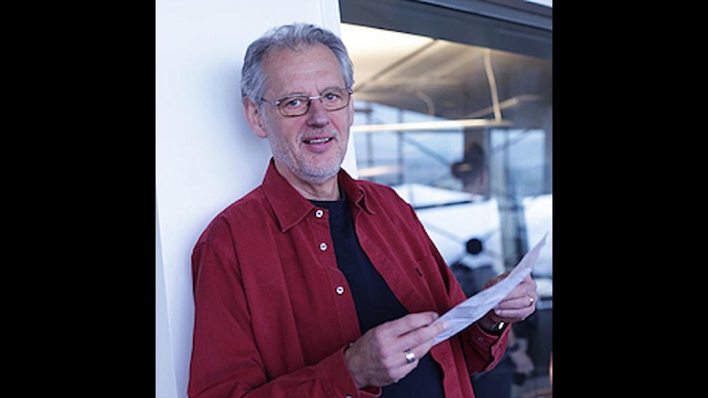 Finn Norgren, generalsekreterare på Radiohjälpen. Foto: Anna Brodin/SR.