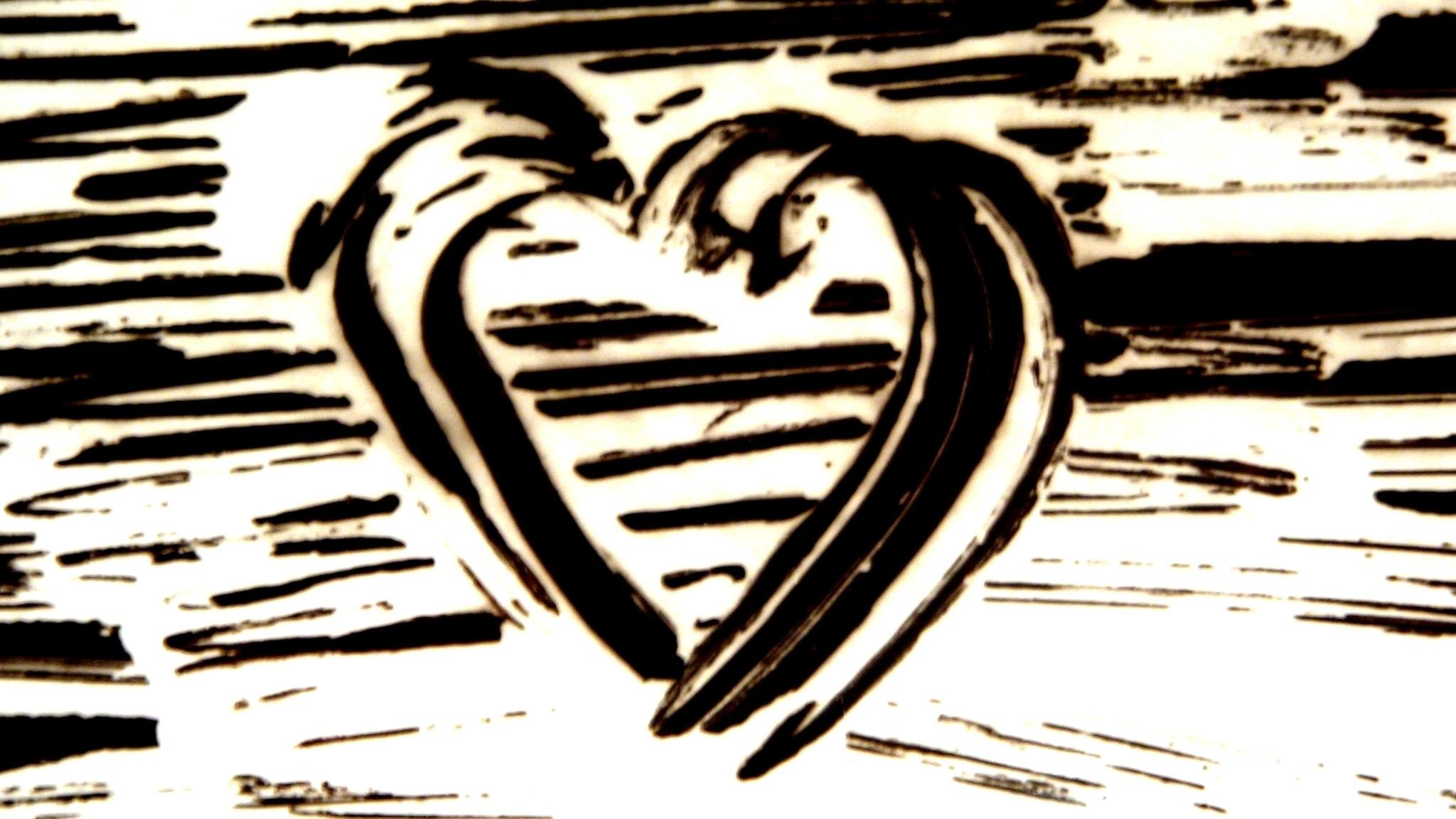Svart i hjärtat