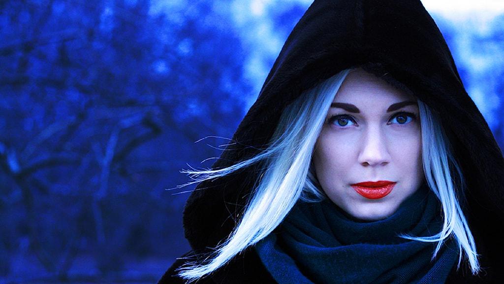 DJ Sandra Mosh. Foto. Sanna Johansson