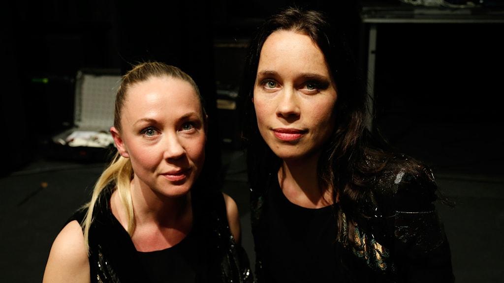 Midaircondo: Lisa Nordström och Lisen Rylander Löve. Foto: Martina Holmberg / Sveriges Radio