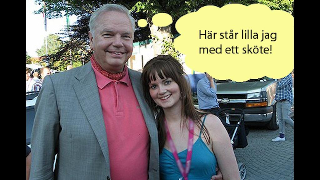 Nanna och Carl Jan stod och kramades på Almedalen för två år sedan. Little did she know vad han tänkte om henne...