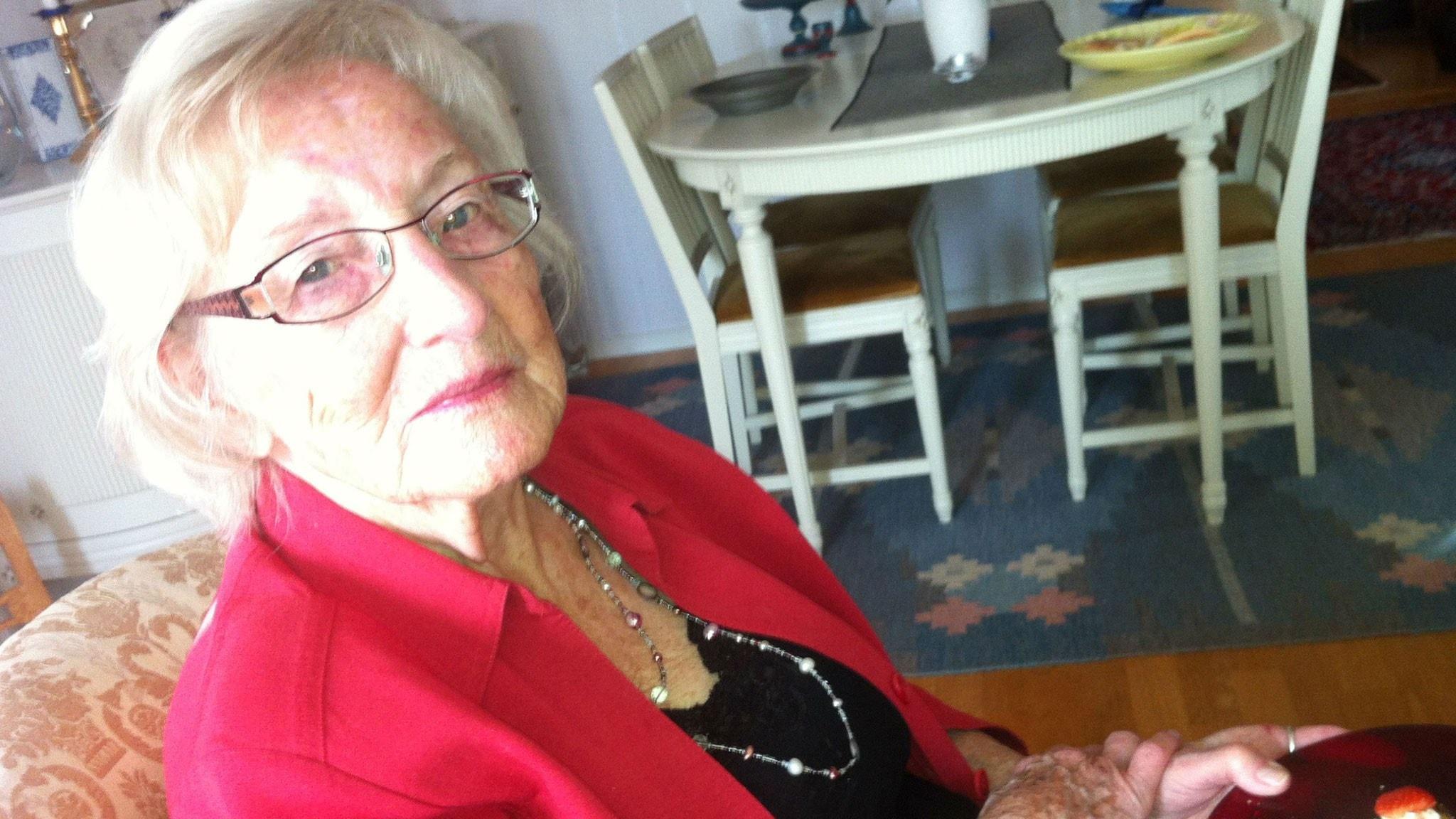 Brottet i P4: Kerstin, 94 år, blev bestulen i sitt hem av Brevligan