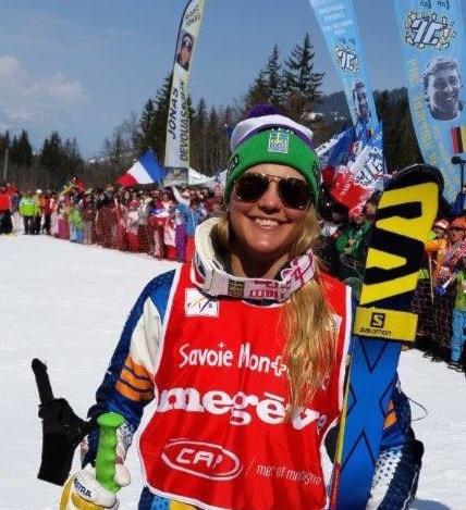 Anna Holmlund - skicross finest!