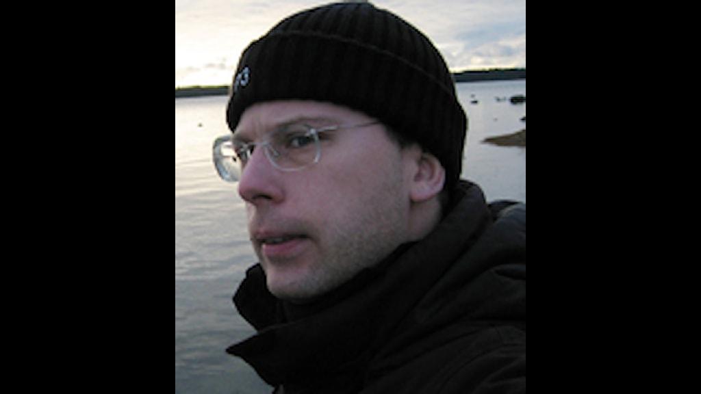 Christian Gillinger är projektledare på Sveriges Radio Digitala Medier