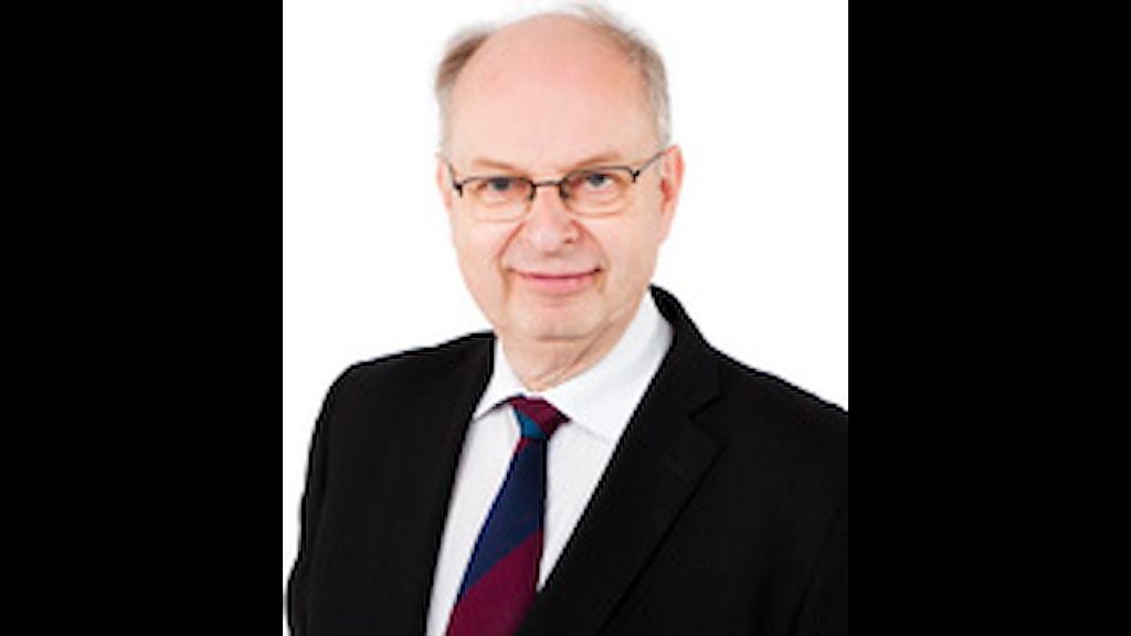 Sveriges Radios vd Mats Svegfors FOTO: Mattias Ahlm/SR