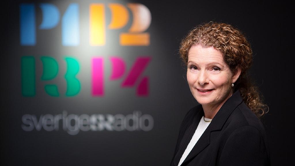 Cilla Benkö, vd Sveriges Radio FOTO: Björn Dalin