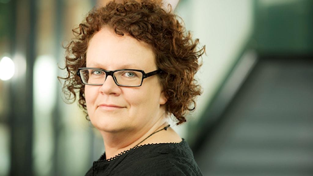 Ulrika Hedman, doktorand vid JMG. FOTO: Ola Kjelbye